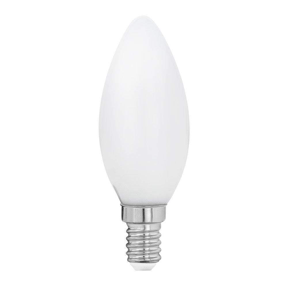 E14 LED Glühbirne Milky Kerze 4W, 470lm Warmweiß 1
