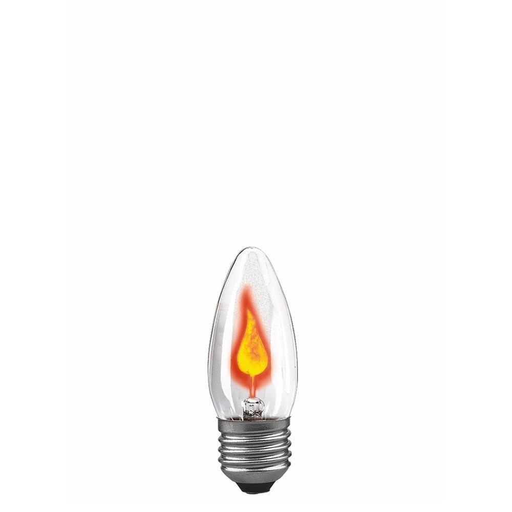 E27 Glühlampe Flackerkerze 3W