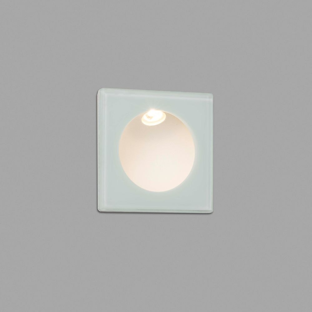 LED Wand-Einbaulampe GALO 3W 3000K IP54 Weiß 1