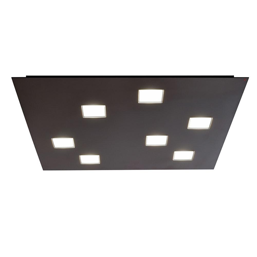 Fabbian Quarter LED-Deckenleuchte quadratisch 7-flammig 2