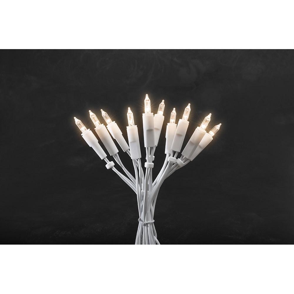 LED Lichterkette 10 Warmweiße Dioden