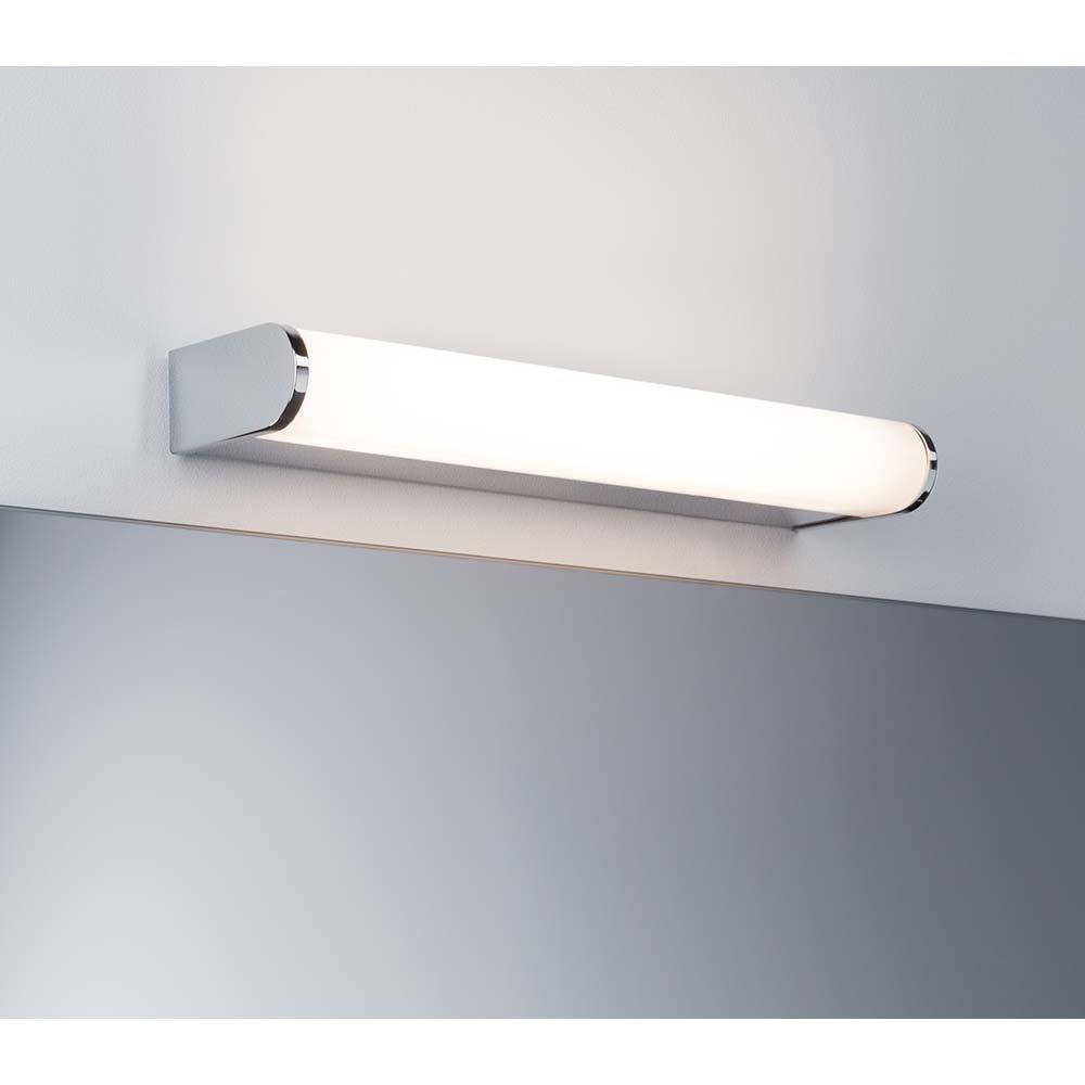 Wandleuchte Arneb IP44 LED 1x9W Chrom Alu Acryl 1