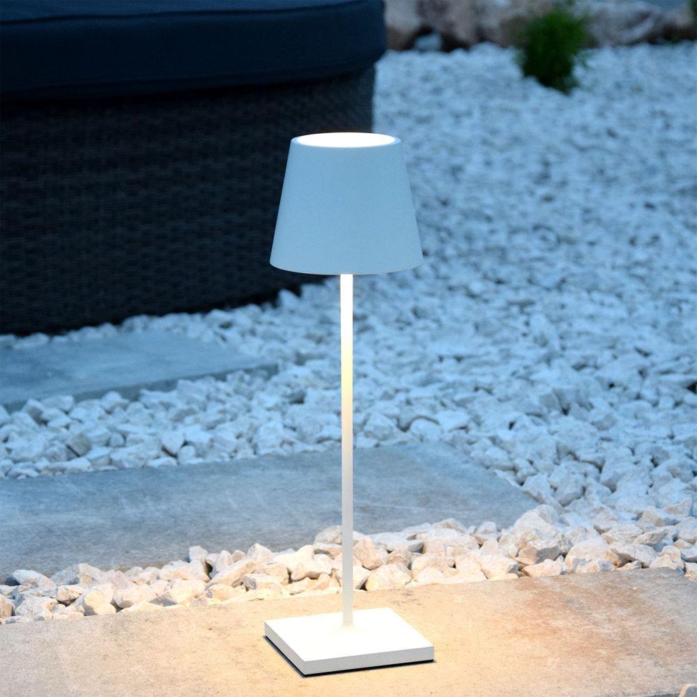 LED Außen Akku-Tischlampe Qutarg Easy-Connect IP54 3