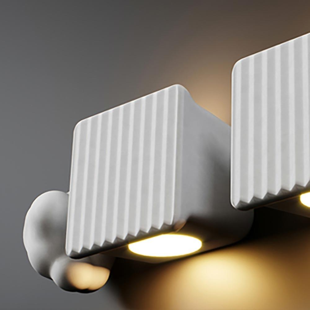 Karman Binarell LED Wandleuchte Weiß-Matt 1