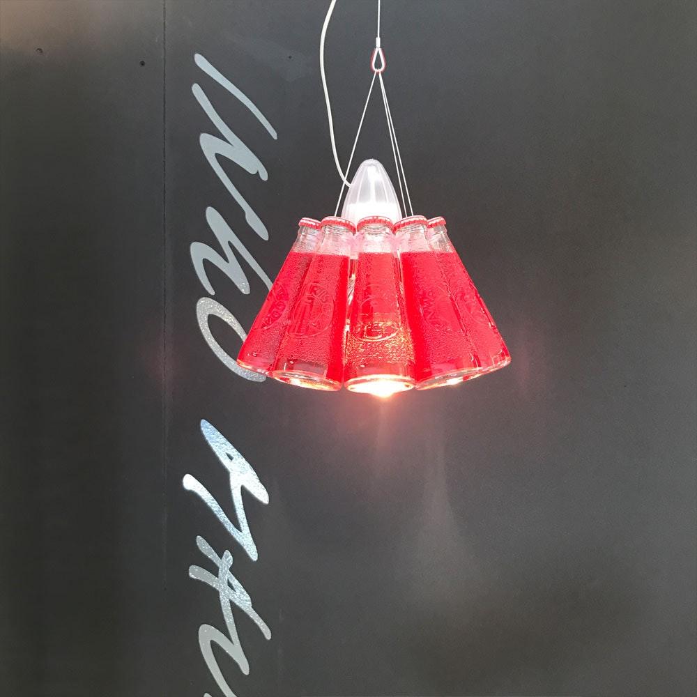 Ingo Maurer Campari Light Pendelleuchte Rot