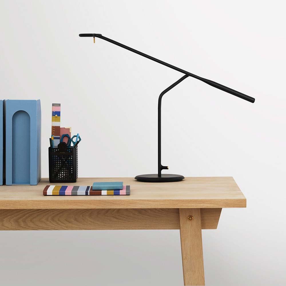 Design LED Tischlampe Flow 5W, 2800-3200K Schwarz