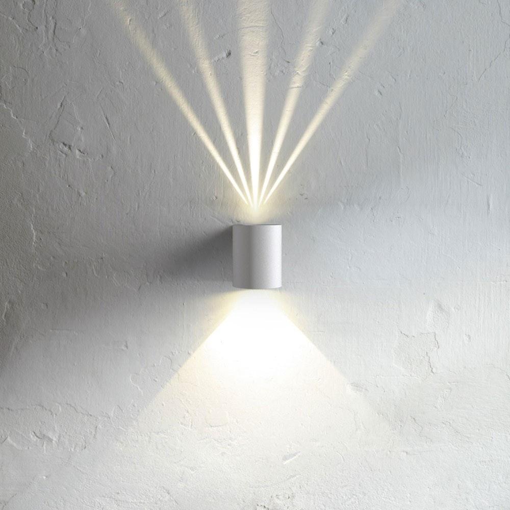 Baleno LED-Wandleuchte für Aussen und Innen Weiß