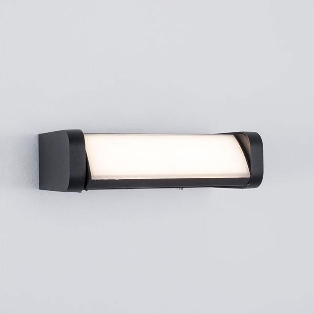 Nova Luce Volver LED-Wandleuchte drehbar Schwarz thumbnail 5