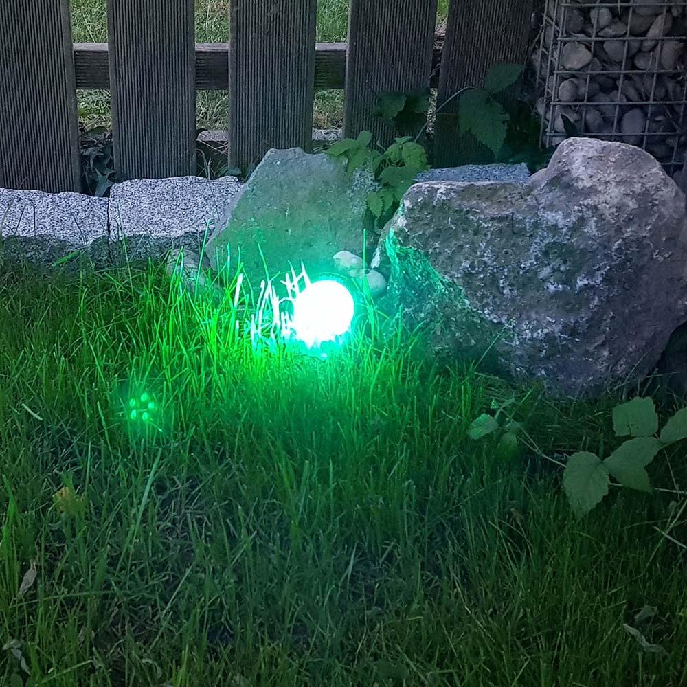 s.LUCE LED-Gartenstrahler iLight 9W RGB + CCT 5