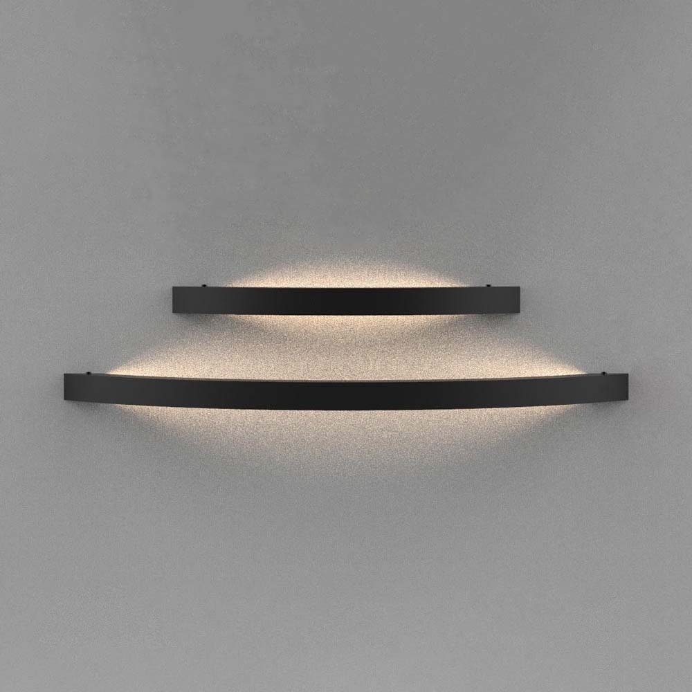 s.LUCE Ring L indirekte LED-Wandleuchte 66cm 6