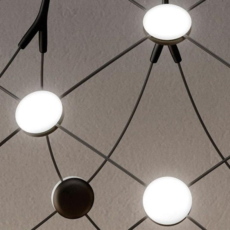Luceplan LED Hängeleuchte Mesh Ø 55cm, max. 500cm thumbnail 6