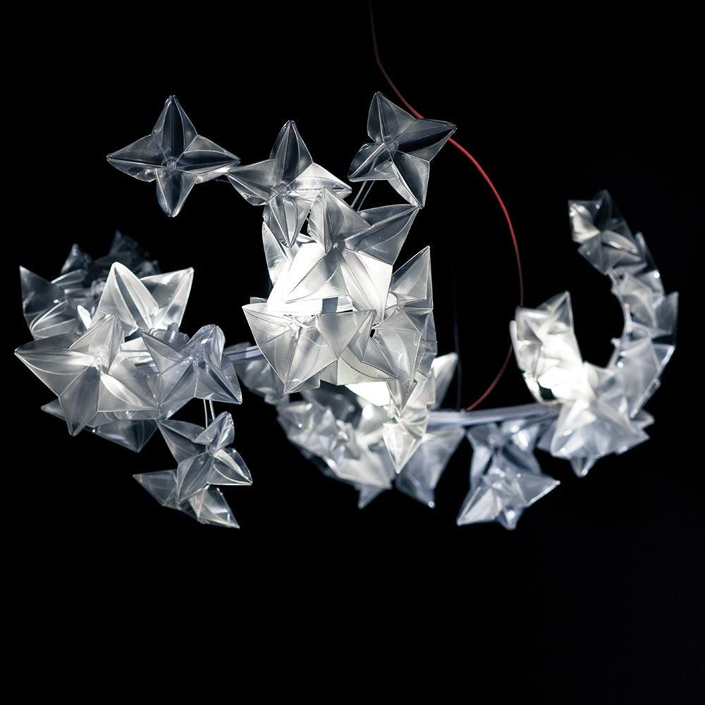 Slamp LED Hängelampe Hanami 2500lm 2700K Prisma 3