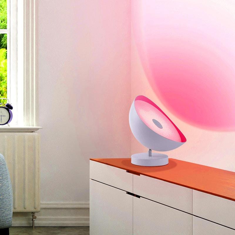 Smarte LED Tisch- & Deckenleuchte Q-Alexis RGB+CCT