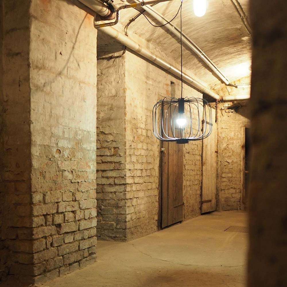 s.LUCE Rooms L direkt & indirekte Gitter-Hängeleuchte Ø 48cm 9