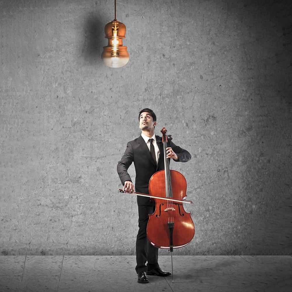 Mantra Sonata Geigen-Pendelleuchte 9