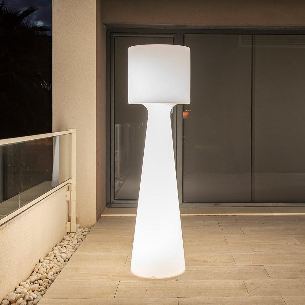 Licht-Trend LED-Außen-Stehleuchte Grace 170cm mit Akku und Fernbedienung  3