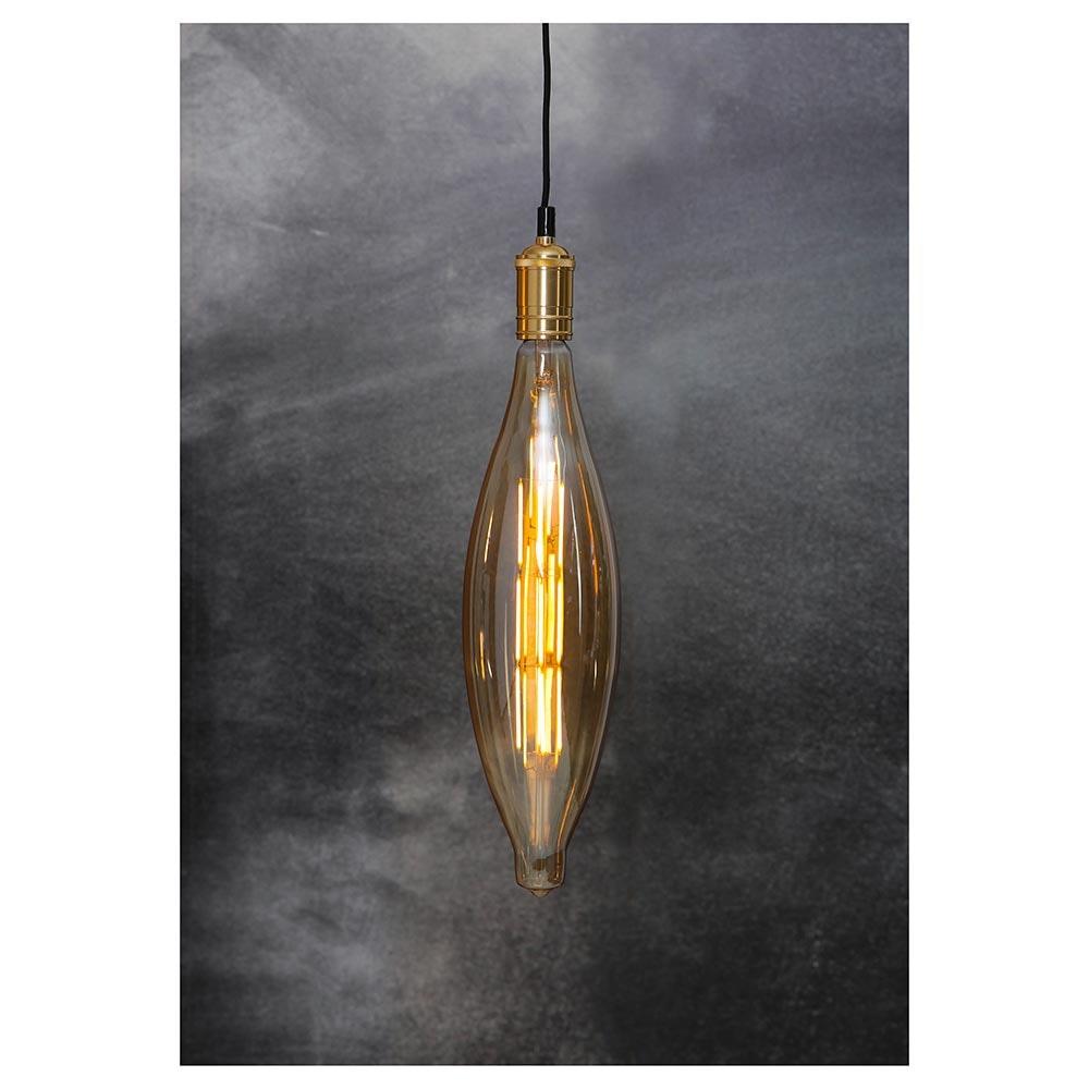 E27 Vintage LED 44cm Zapfen Dimmbar 800lm Extra Warmweiß thumbnail 4