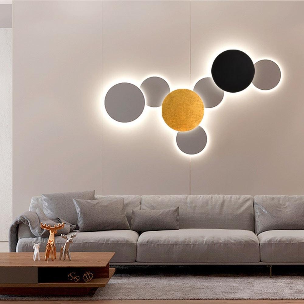 s.LUCE indirekte LED Wandleuchte Plate