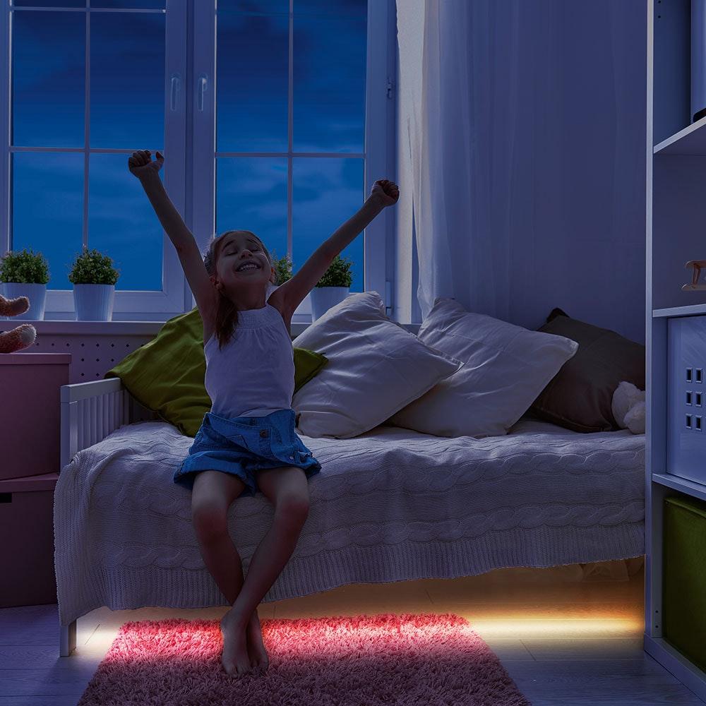 2er-Set LED-Stripe Pidio mit Sensor Warmweiß 2