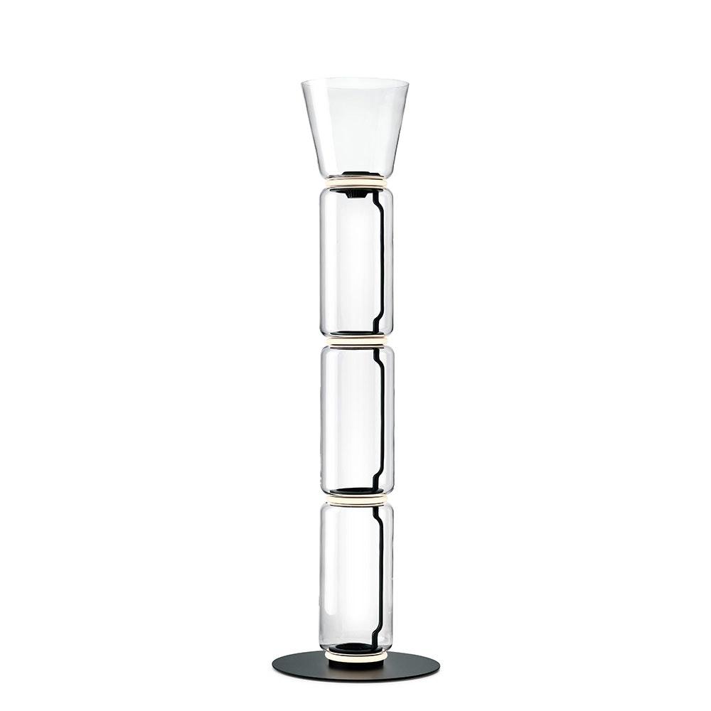 FLOS Noctambule Cone LED-Stehleuchte mit Glaszylinder 4