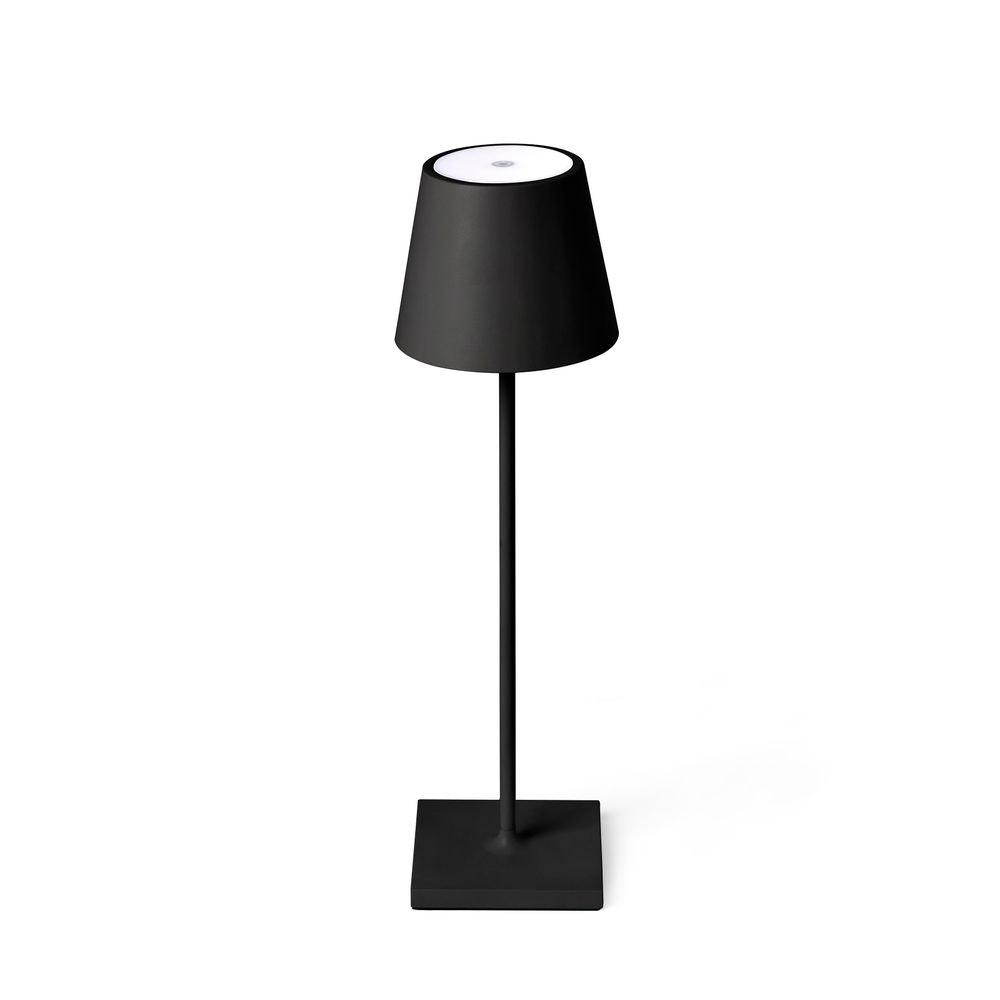 LED Akku Außen-Tischlampe Qutarg IP54 Dimmbar Schwarz 2