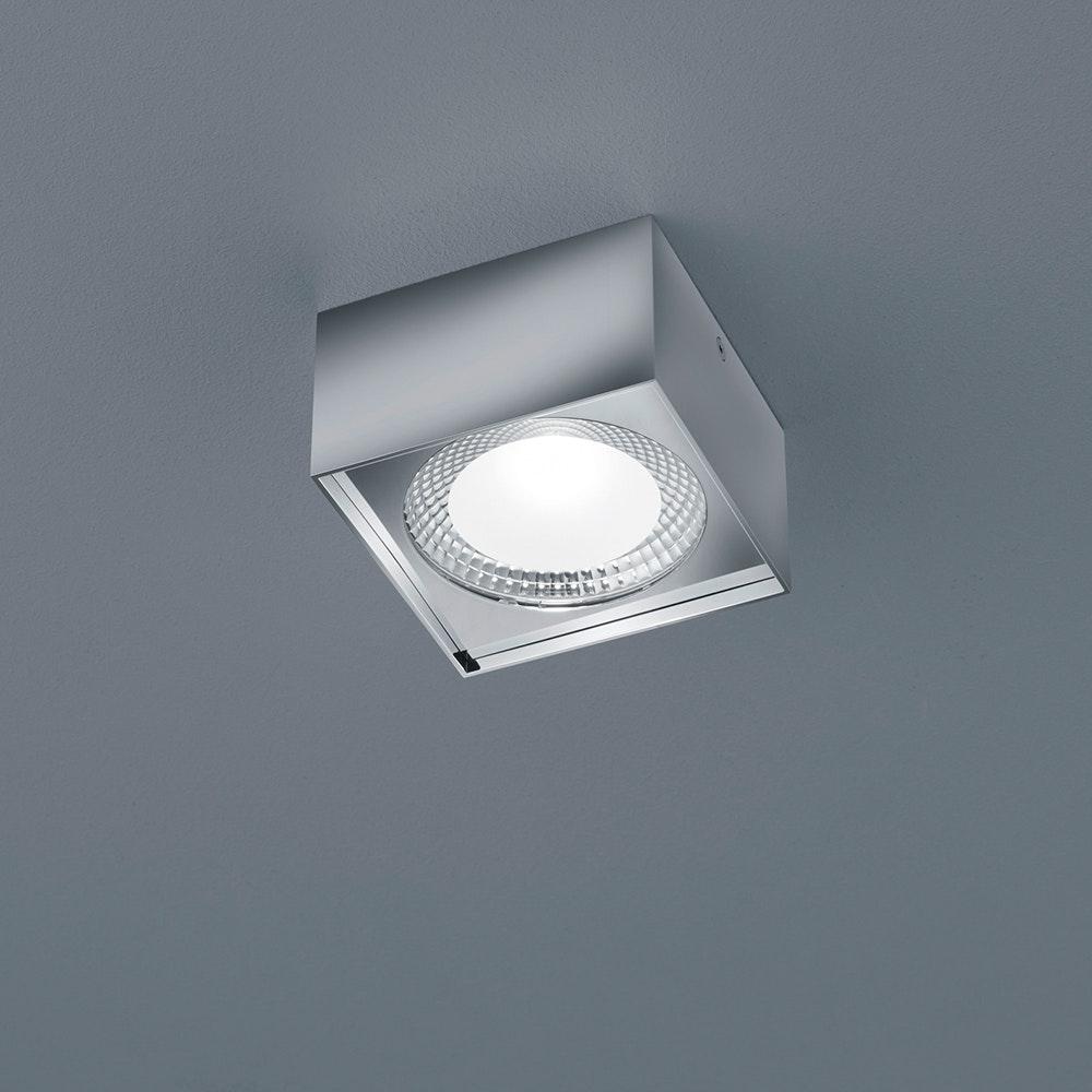 Helestra LED Deckenlampe Kari Chrom