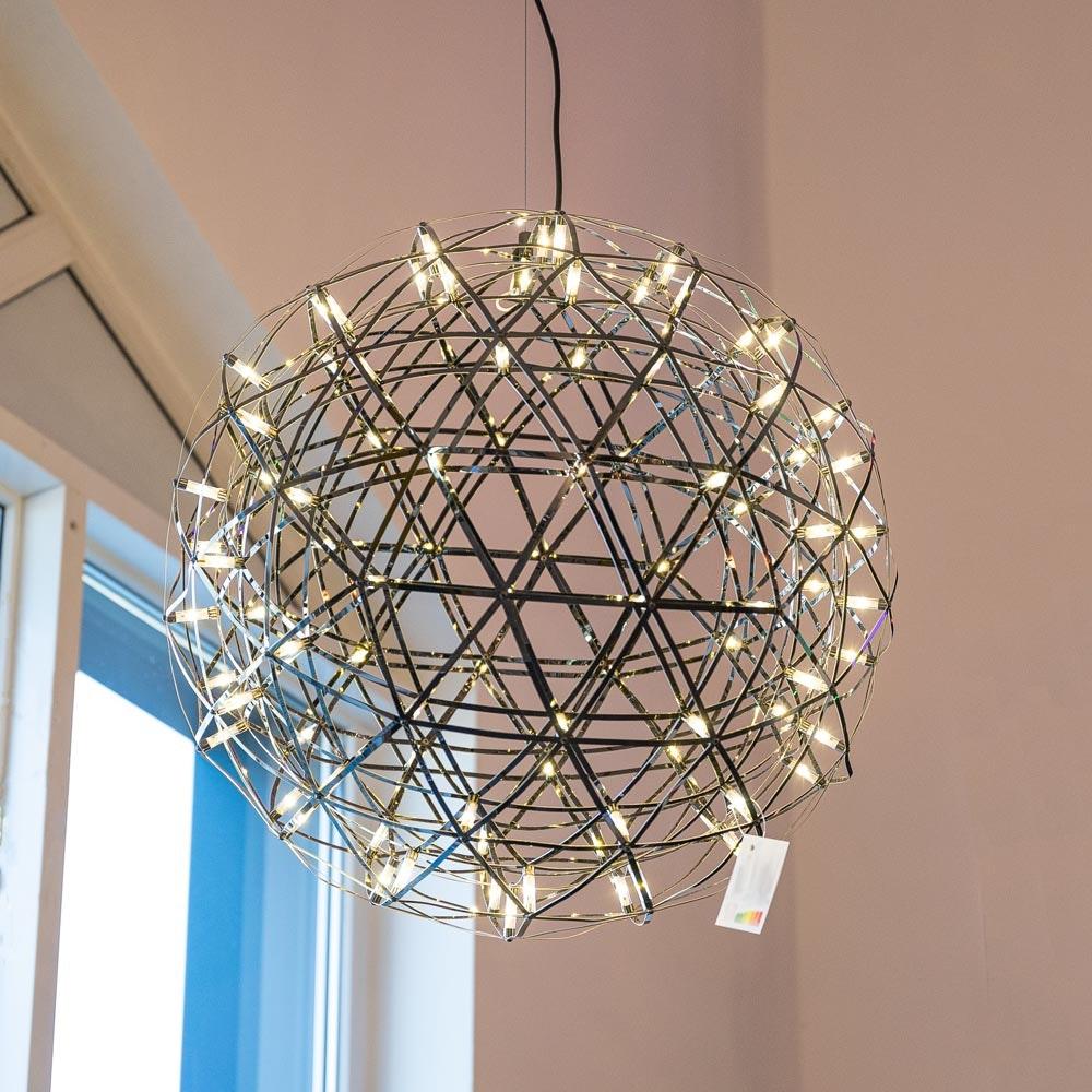s.LUCE pro Atom 70 dimmbare LED-Pendelleuchte Metallkugel 7