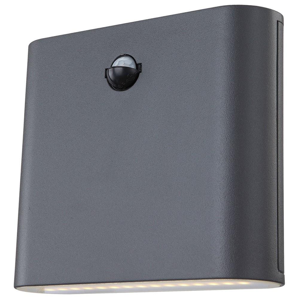 Licht-Trend LED Außenleuchte Marias Up&Down mit Sensor IP44 Grau 2