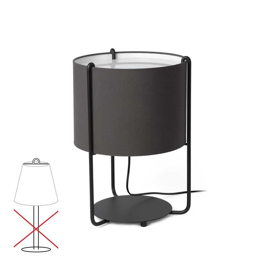 Lampenschirm für Tischleuchte Drum  2