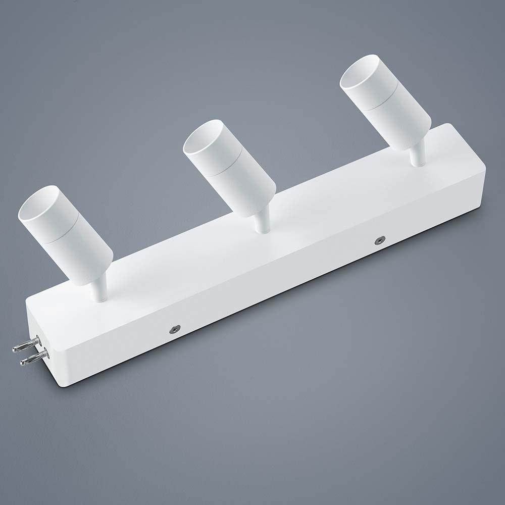 Helestra LED Strahler-Deckengehäuse Endeinspeisung Vigo Weiß 1
