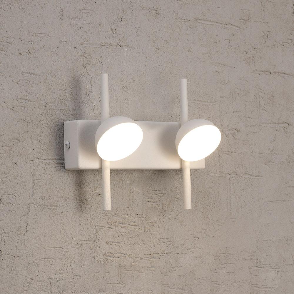 Mantra Adn 2-flammige LED-Wandleuchte 1