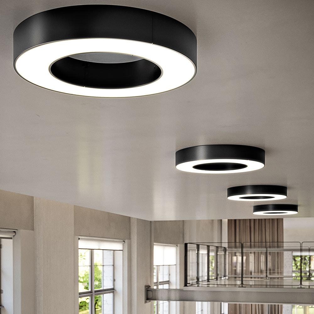 Panzeri Silver Ring LED-Deckenlampe dimmbar 2