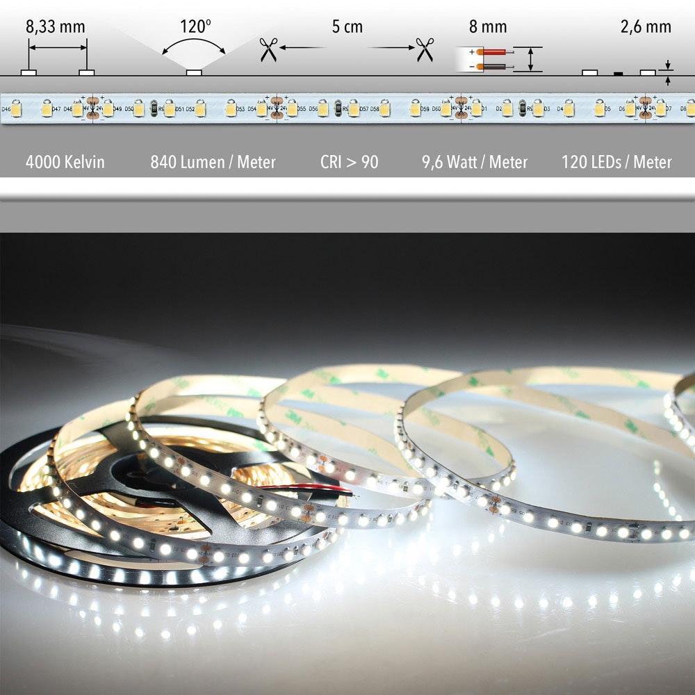 5m LED Lichtband 24V auf Wunsch  3