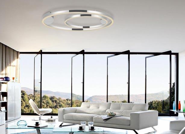 Wohnzimmberbeleuchtung s.LUCE Deckenlampe