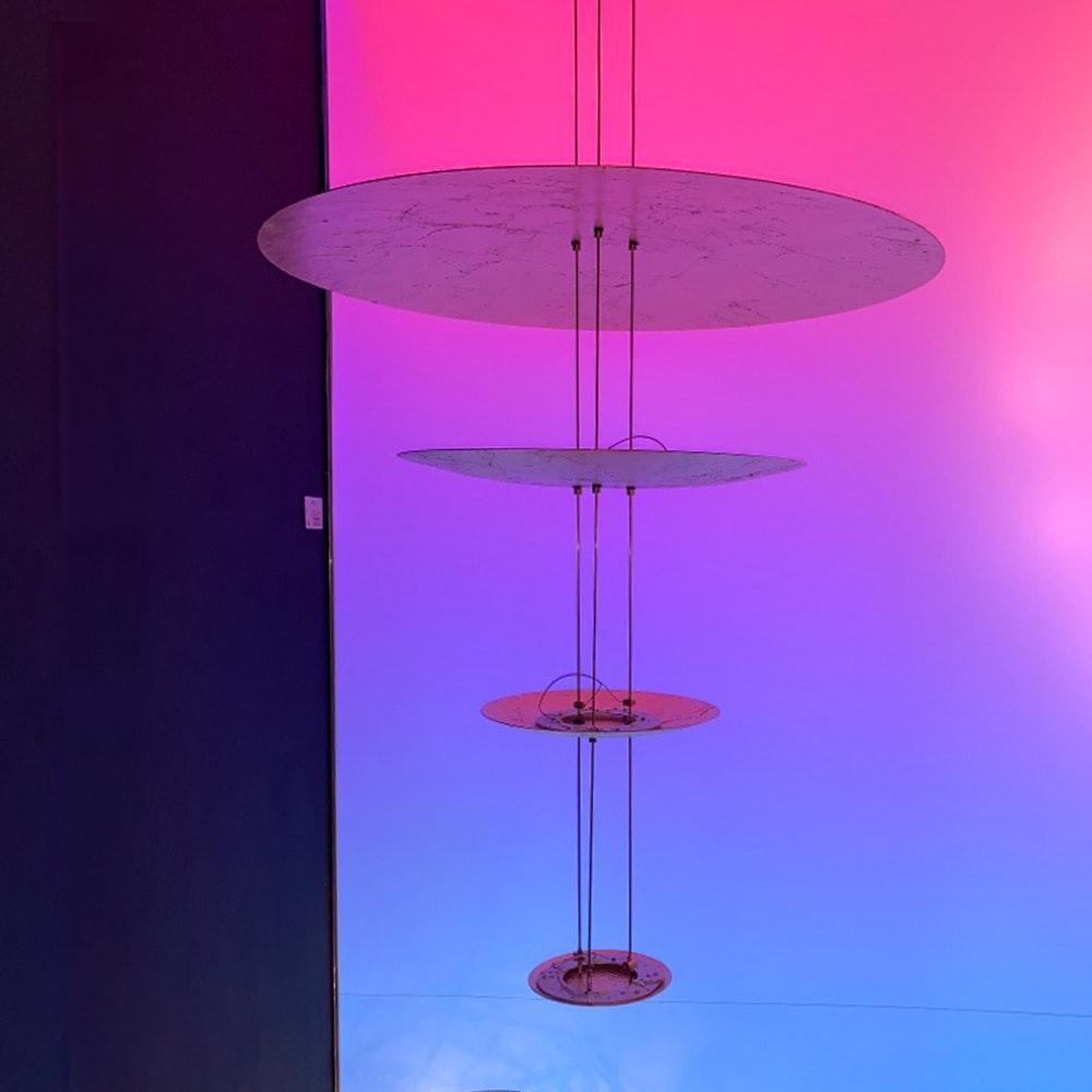 Catellani & Smith Macchina della Luce mod. A LED Hängelampe Ø 80, 50, 30, 18cm 2