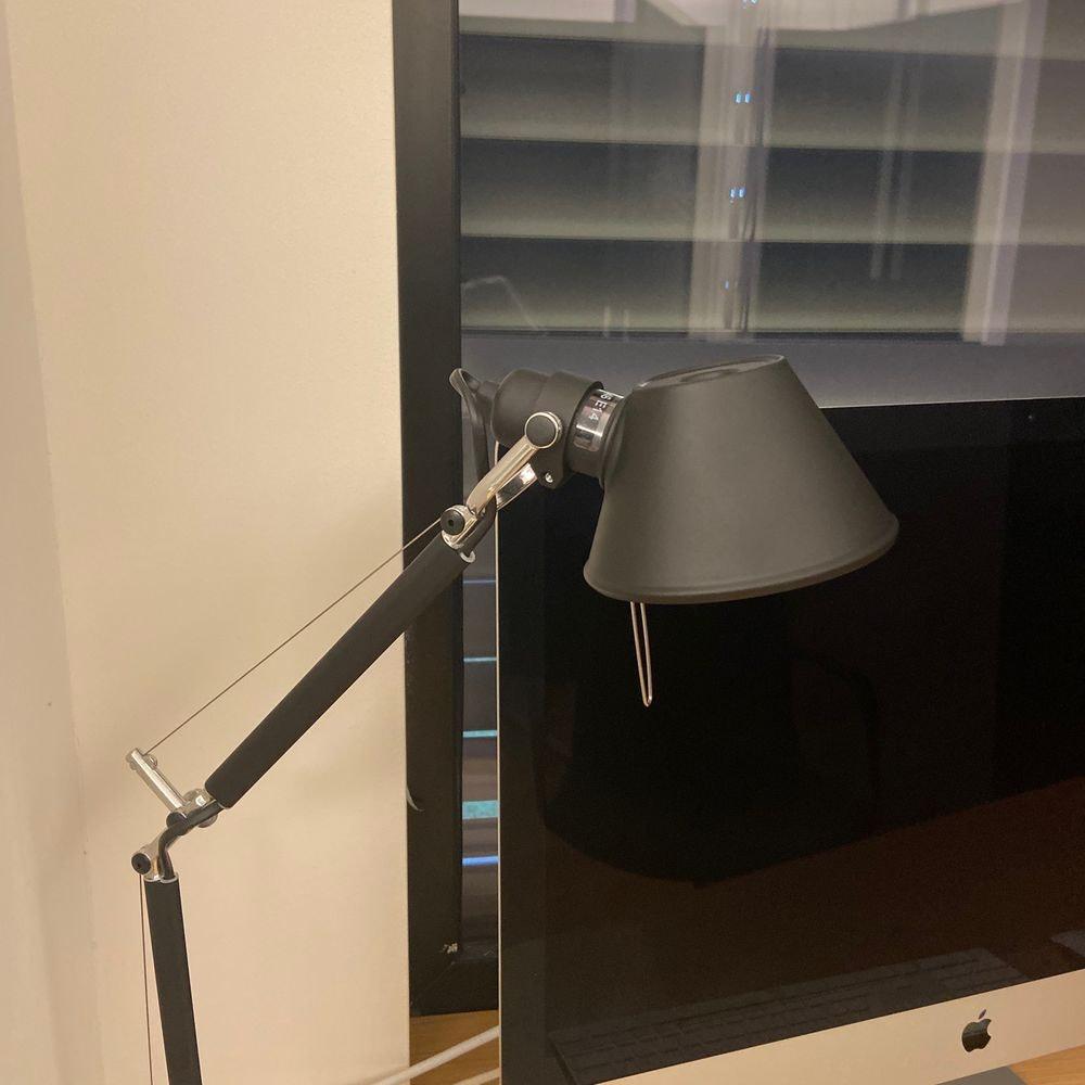 Artemide Tolomeo Micro Tischlampe mit Klemme 1