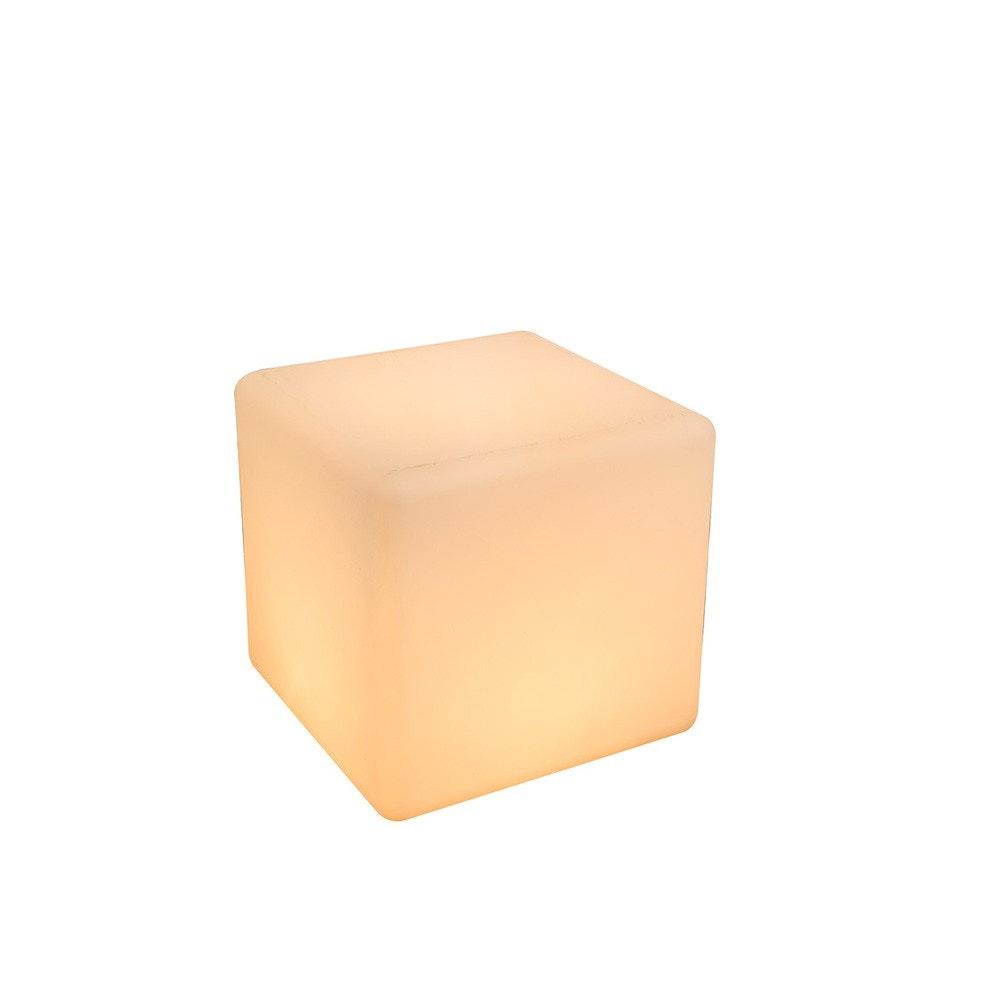 Cavez Leuchtwürfel 30 x 30cm Außenleuchte aus Kunststoff 2