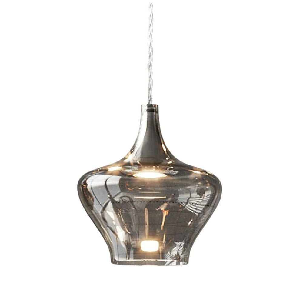 Studio Italia Design Nostalgia Glass Medium 20cm LED Hängeleuchte 1