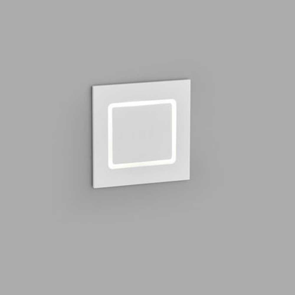 Helestra LED Wandeinbaustrahler Sent schwenkbar Weiß 2