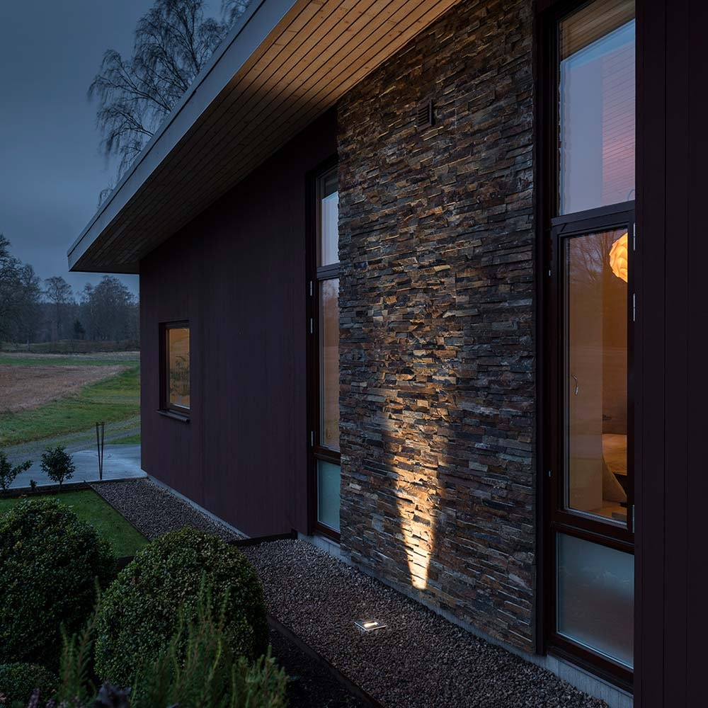 High Power LED Bodeneinbaustrahler 1100lm mit verstellbarem Lichtaustritt Edelstahl 2
