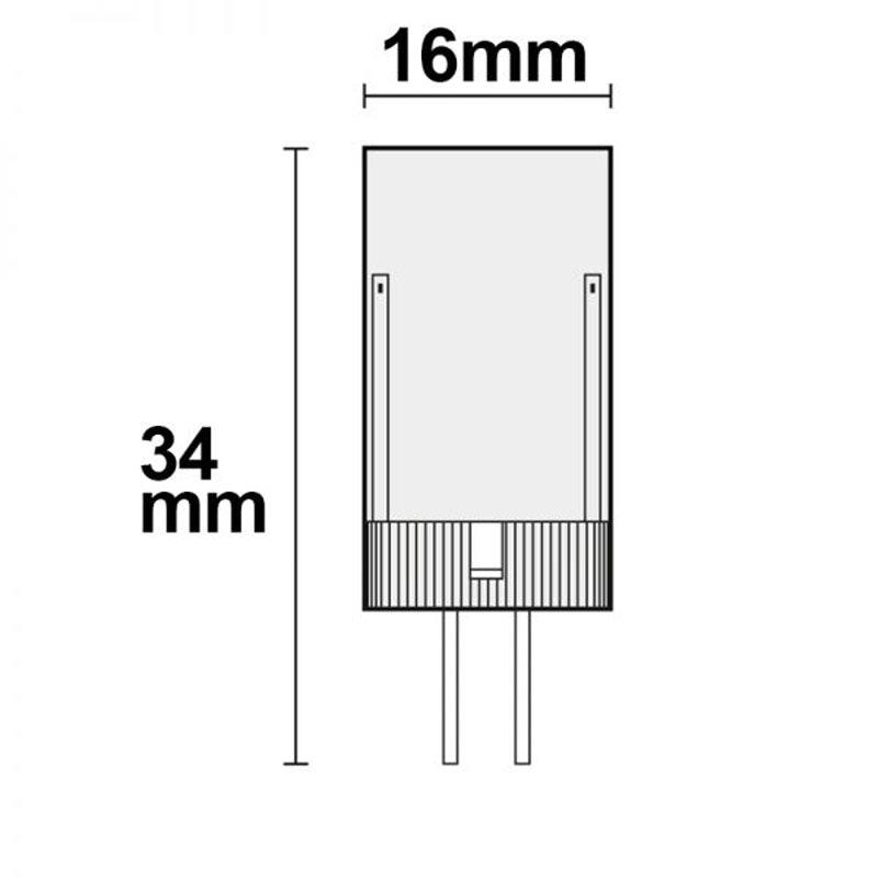 G4 LED 3,5W Warmweiß 320lm 2