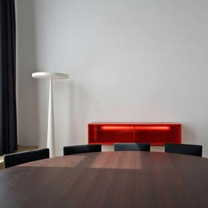 Prandina riesige Stehlampe Equilibre F3 Schwarz 5