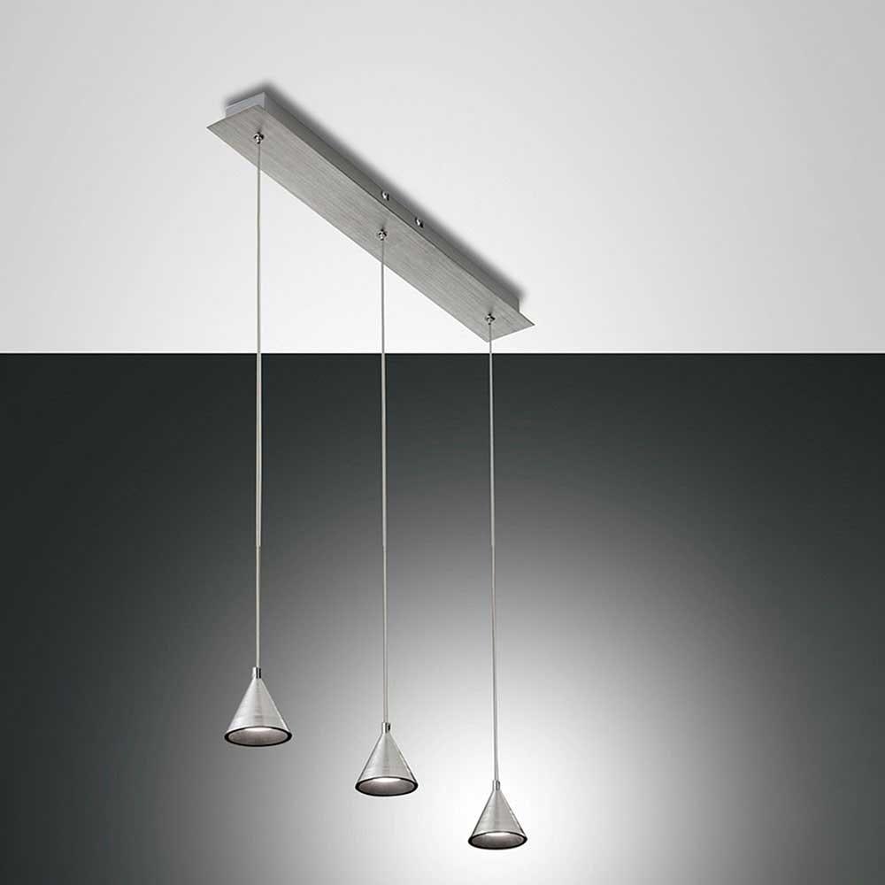 Fabas Luce LED Pendelleuchte Delta Metall 7