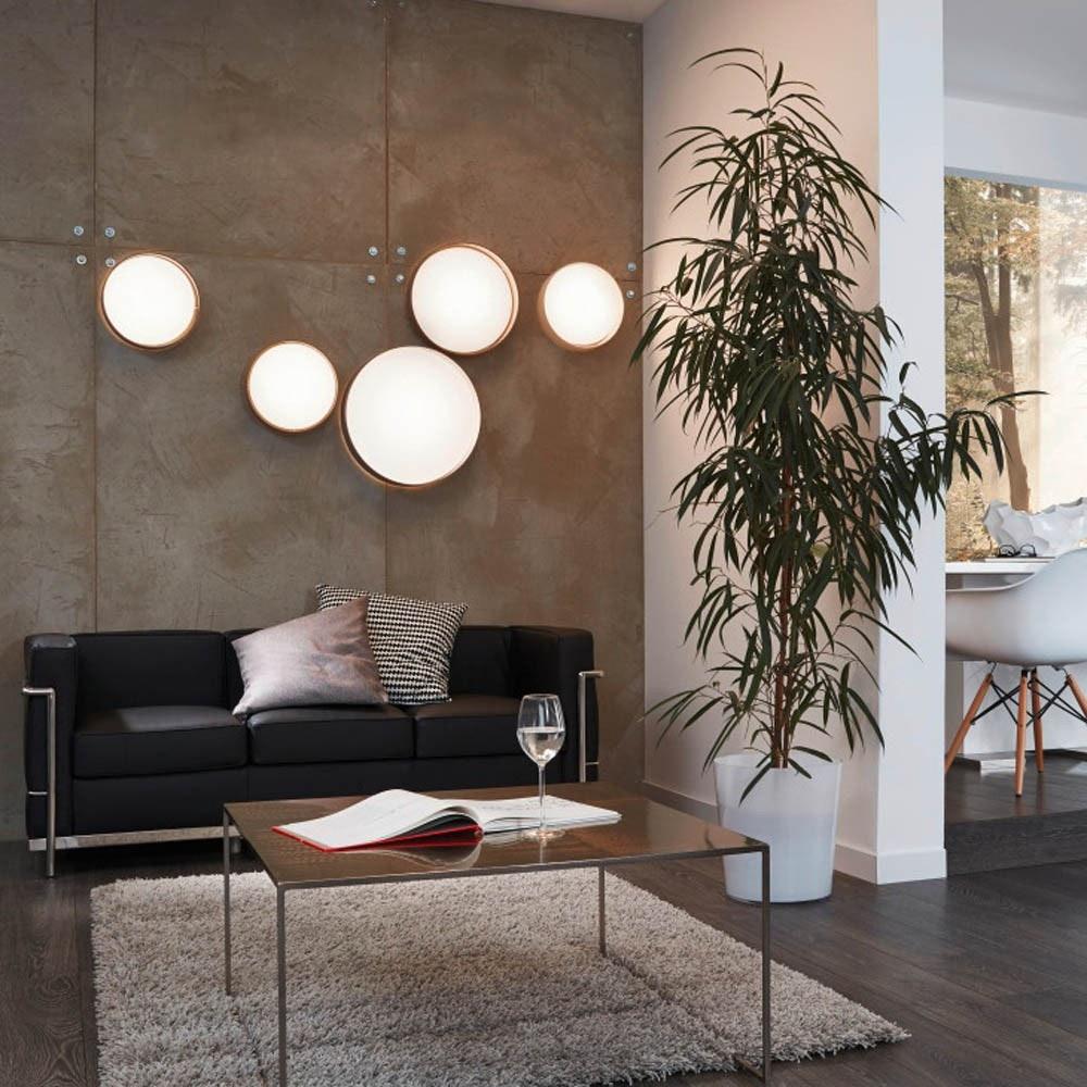 Palo LED Decken- & Wandleuchte Ø 32cm Creme 5