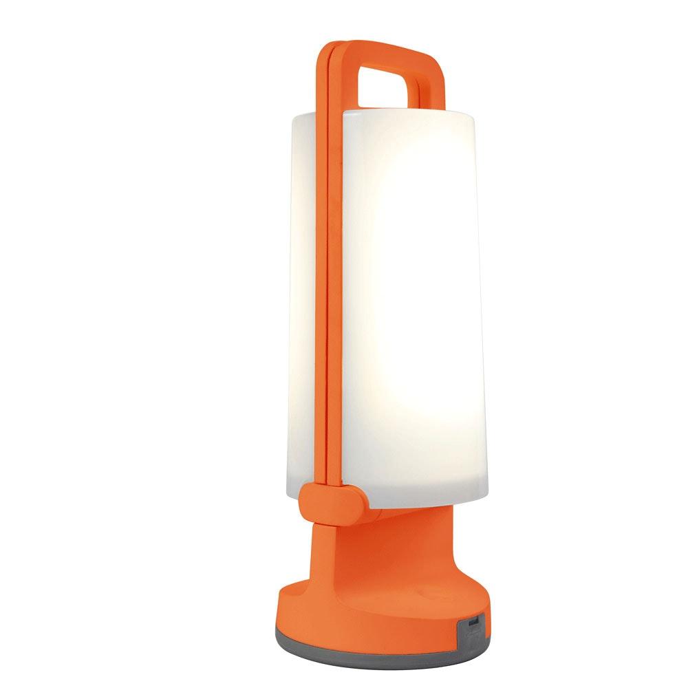 Mobile LED Solarlampe Dragonfly IP54 Orange 1