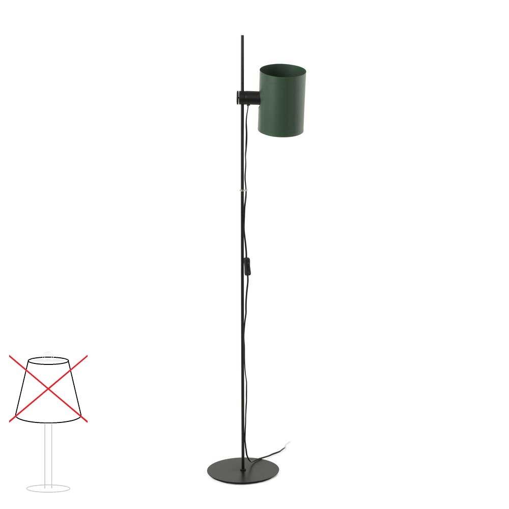 Lupe Stehlampe 150cm Schwarz ohne Schirm 2