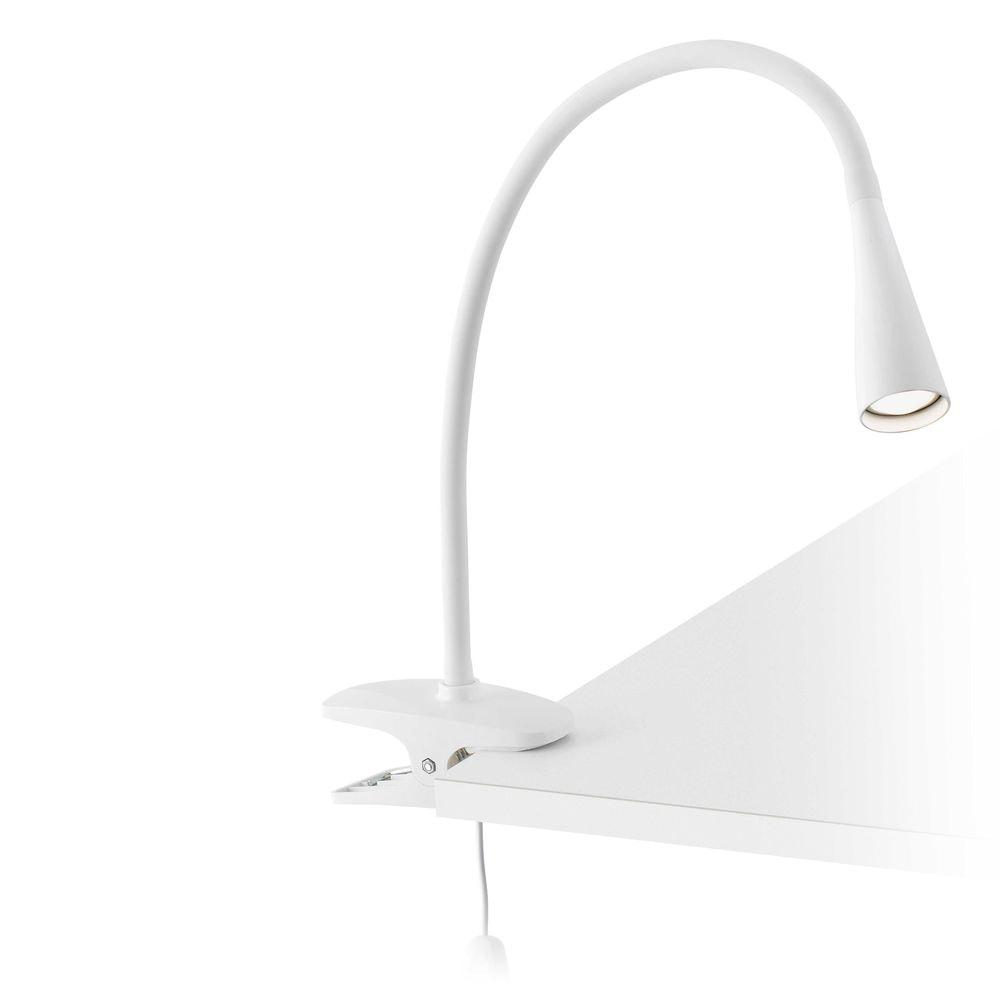 LED Klemmleuchte LENA 5W 4000K IP20 Weiß