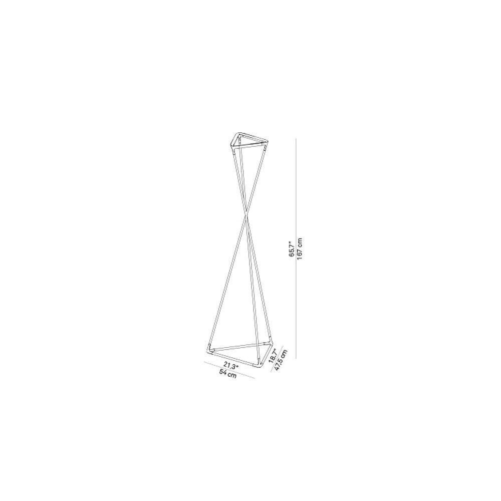 Luceplan LED Stehlampe Tango schwarz thumbnail 4