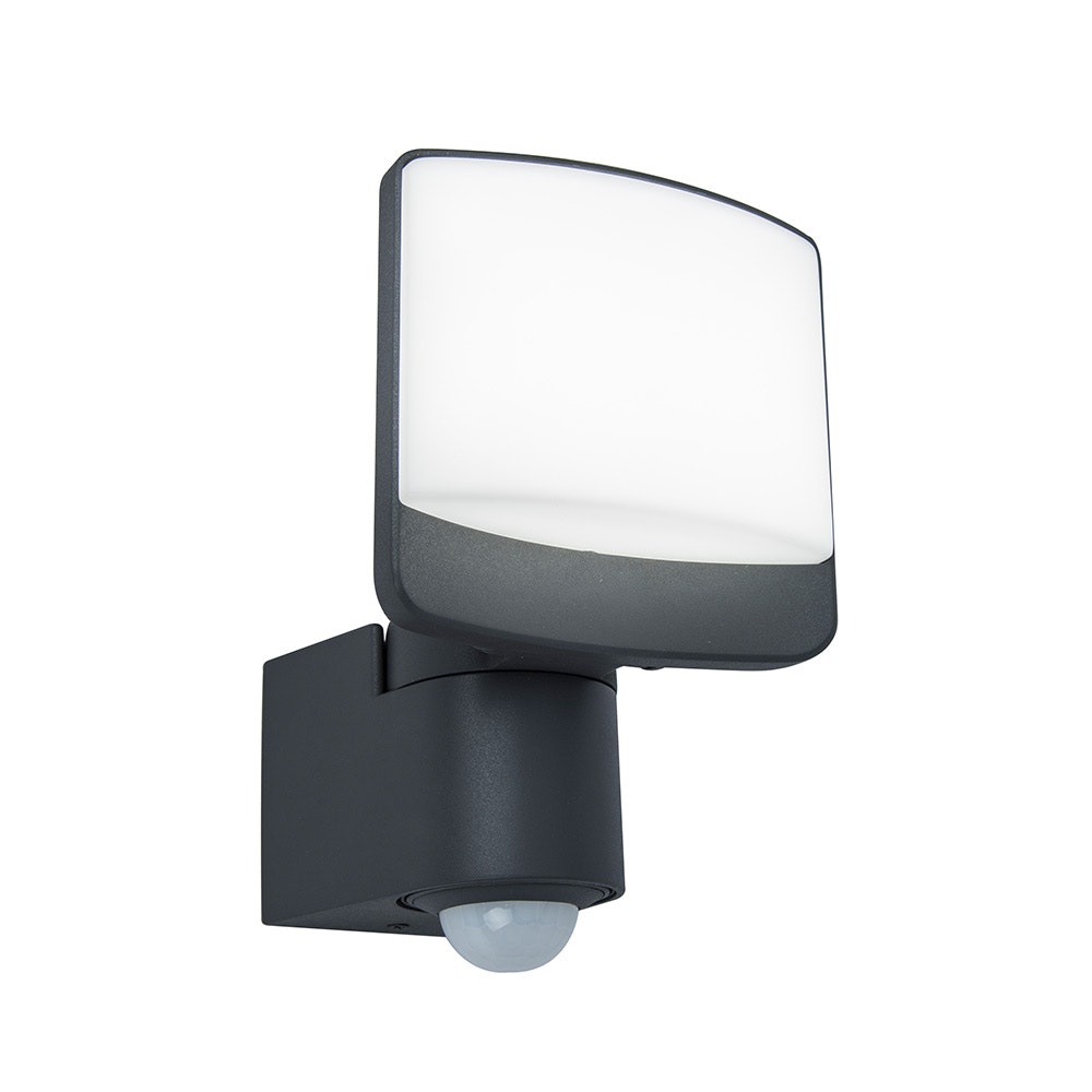 LED Außenstrahler Sunshine mit Sensor IP44 Anthrazit 2