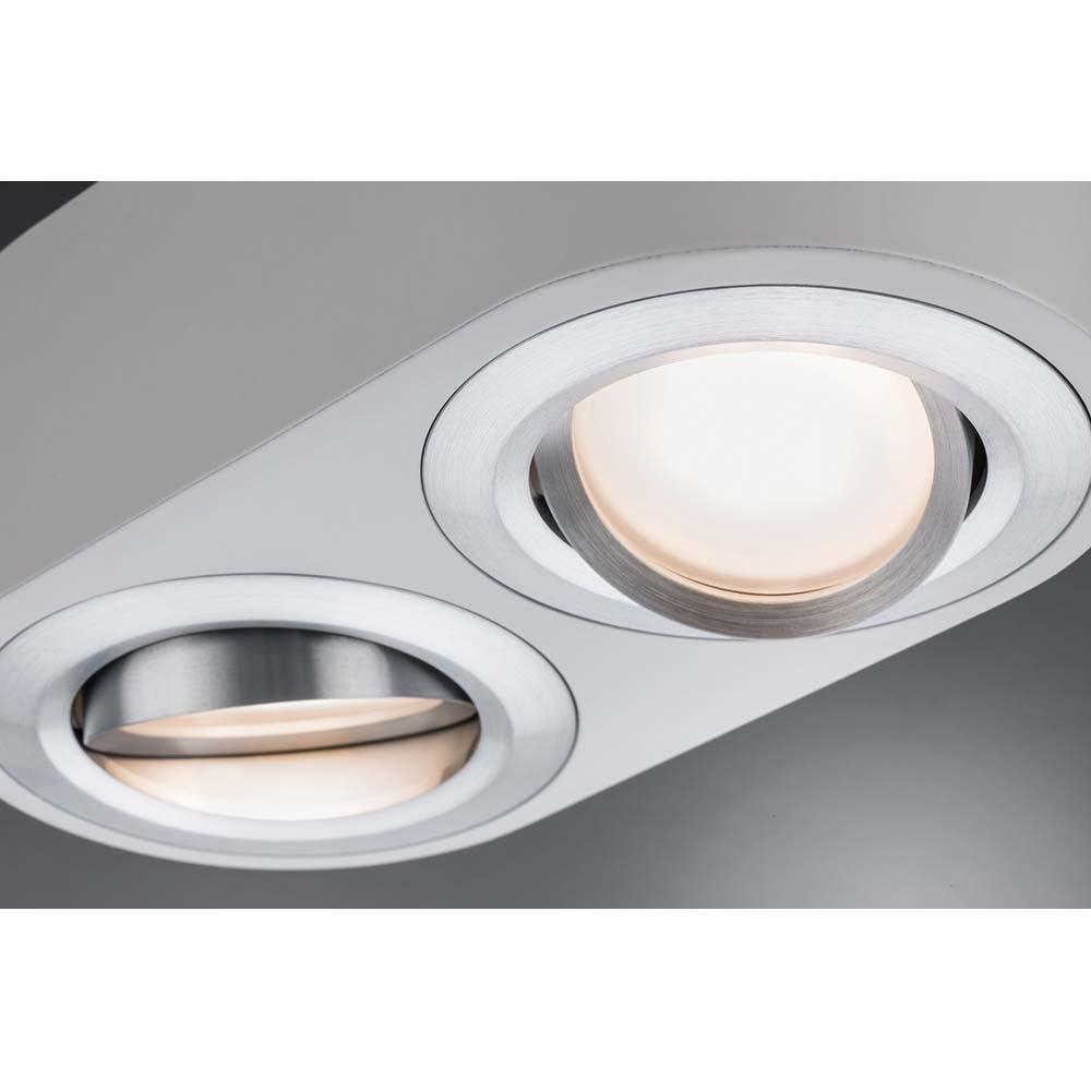 Wandleuchte Argun LED 2x4,8W Weiß Alu-Gebürstet 2